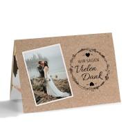 Dankeskarten Zur Hochzeit Danksagungskarten Gestalten
