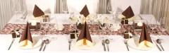 Tischdeko Hochzeit Braun Ideen Fur Was Wohndesign Puresterol Com