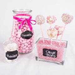Candy Bar kleine Tafelsticker 12er Set