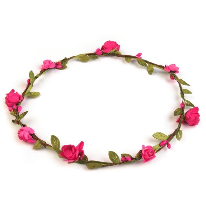 Blumenkranz Hochzeit Rosenblute Pink Fur Blumenkinder