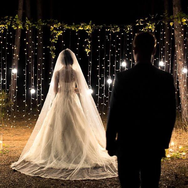 Lichterkette Hochzeit Mit 100 Leds 10 M Tolle Raumdeko