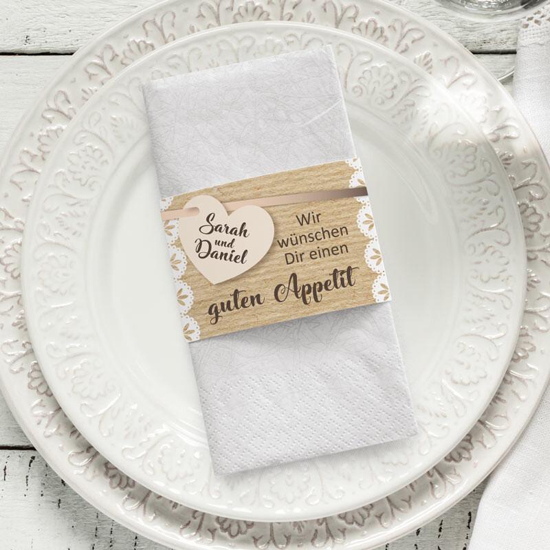 Servietten Fur Eure Hochzeit Viele Designs