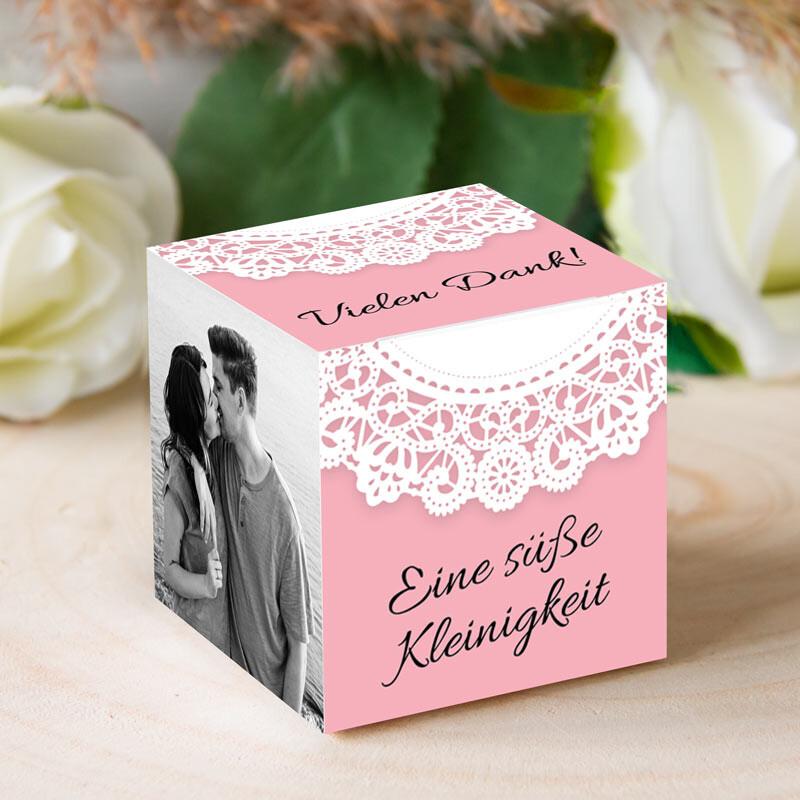 Gastgeschenk Hochzeit Personalisiert Vintagezauber
