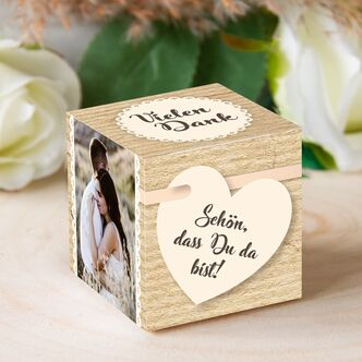 Personalisierbare Gastgeschenk Box Country Love