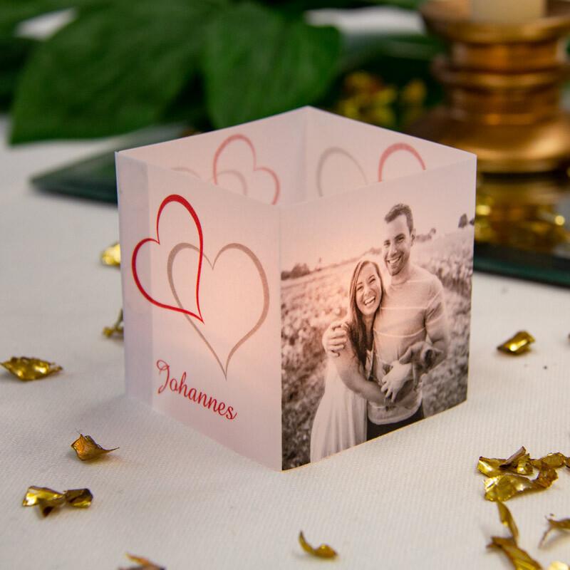 Windlichter Zur Hochzeit Als Tischkarten Hier Bestellen