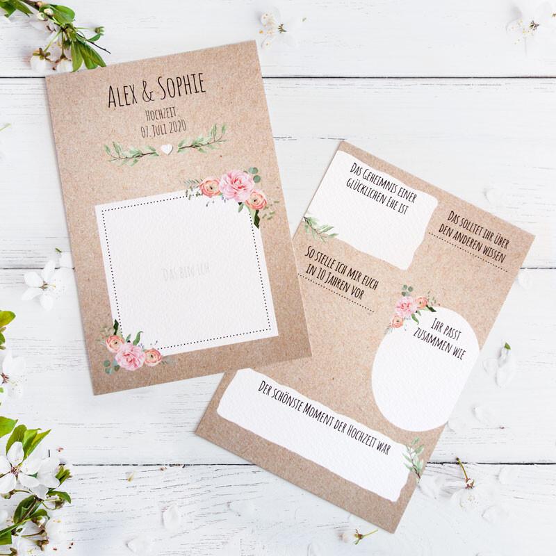 Gästebuch Karten Hochzeit Gästebuch Karten Für Die
