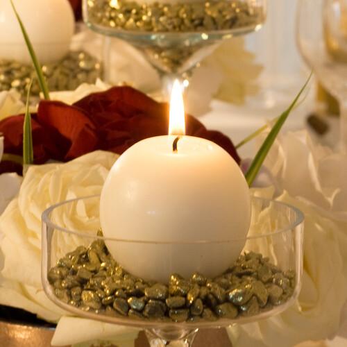 Tischdeko In Gold Nicht Nur Fur Goldene Hochzeiten