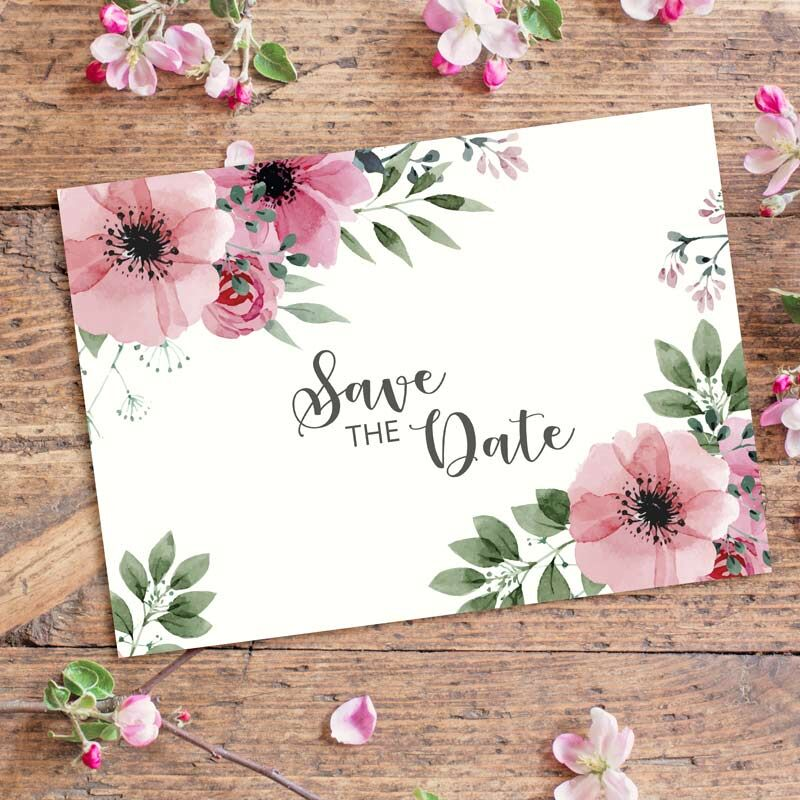Save the Date Karte Bohemian Summer