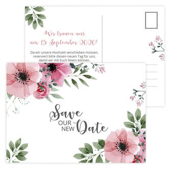 Save the NEW Date Karte Bohemian Summer