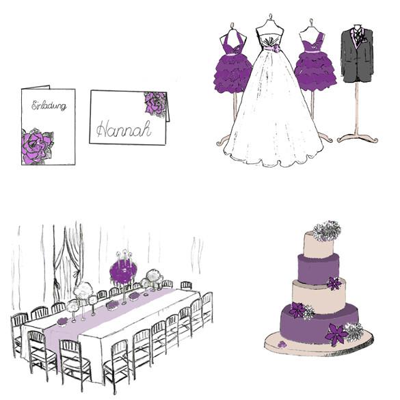 Farbkonzept Hochzeitsdeko Ratgeber