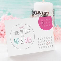 Save the Date Karte Hochzeit Calendario