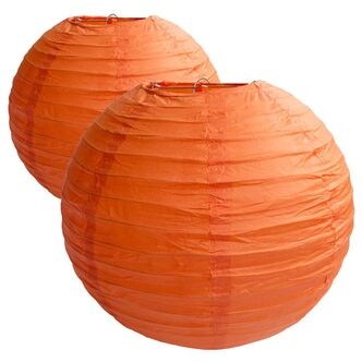 Lampion orange Ø 35 cm