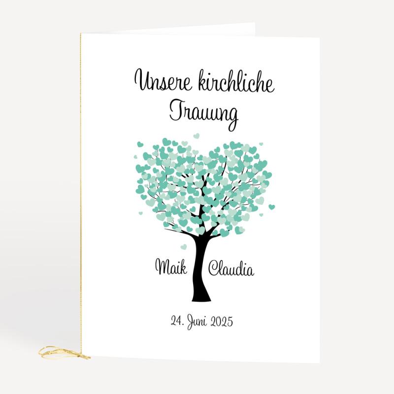 Kirchenheft Herzbaum Fur Eure Hochzeit Bestellen