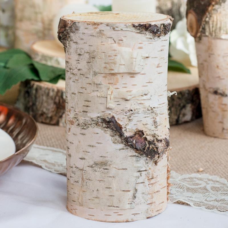 Deko Baumstamm 15cm aus Holz kaufen   Meine-Hochzeitsdeko.de
