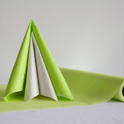 Tischdeko Set Grun Weiss