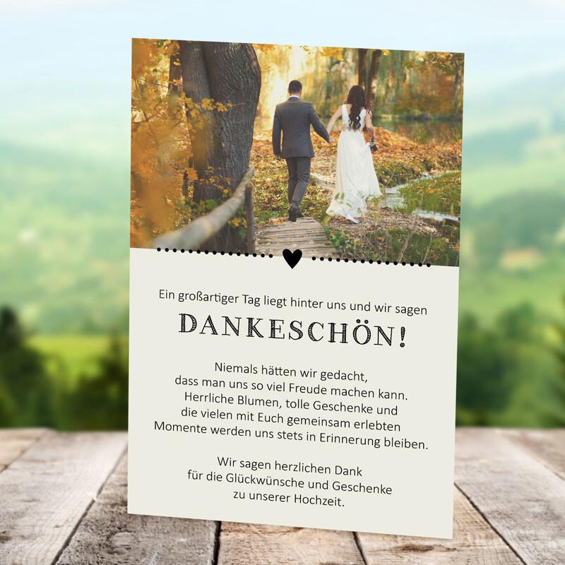 Danksagung hochzeit kirchenheft text Kirchenheft Hochzeit