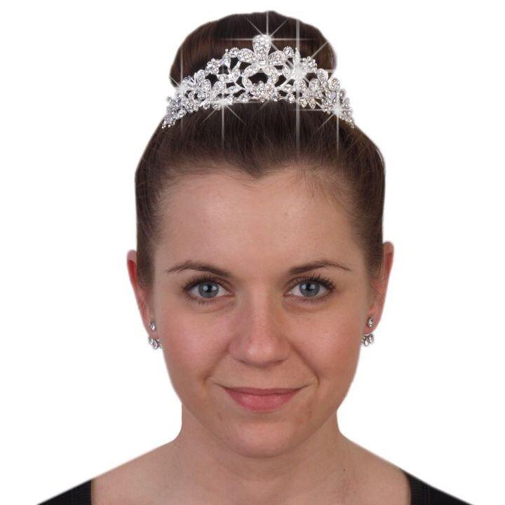 Diadem Hochzeit Maxima Aus Strass Online Bestellen