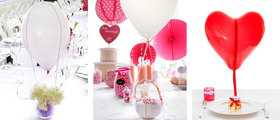 DIY-Heißluftballons für die Hochzeitsdeko