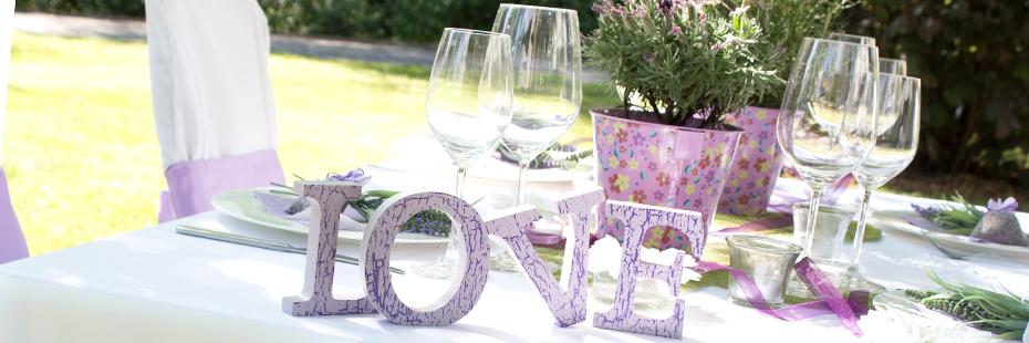 Tipps und Ideen für die Hochzeitsdeko | Ratgeber
