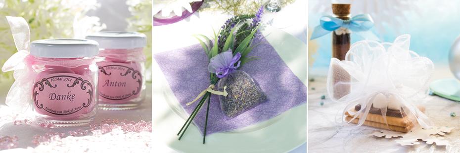 Gastegeschenk-Ideen für die Hochzeit