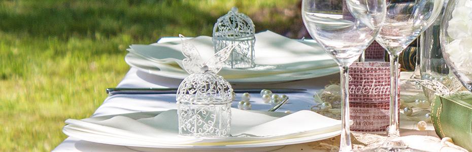 Gastgeschenke für die Vintage-Hochzeit
