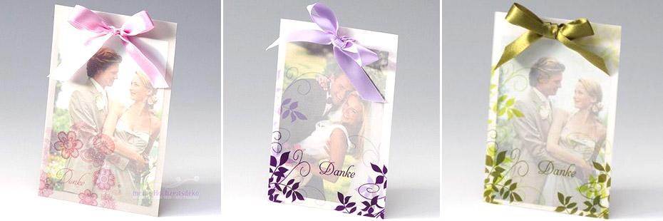 Danksagungskarten für die Lieben