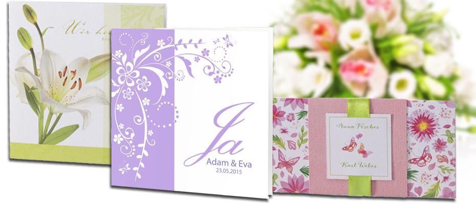 Einladungskarten Hochzeit, Hochzeitstrends