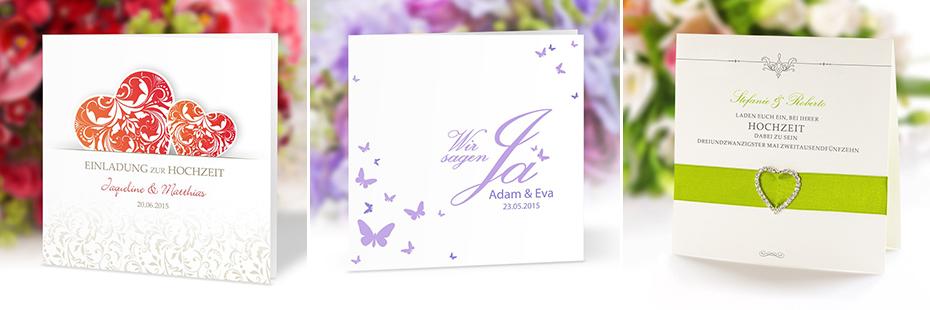 Einladungskarten für die Hochzeit - Die Basics Teil 2