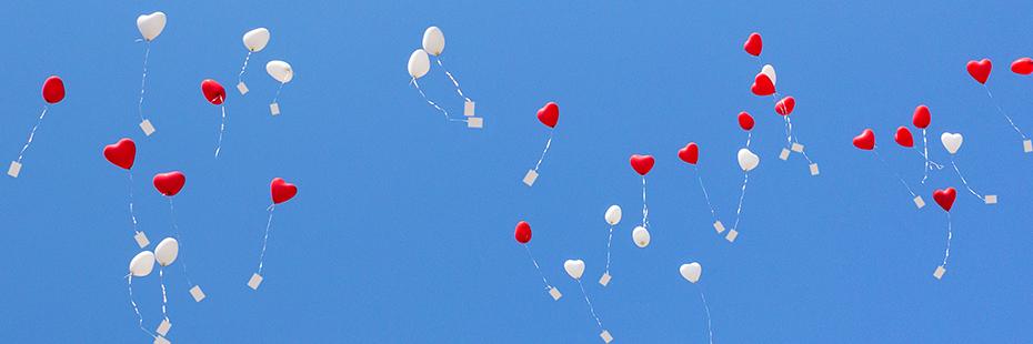 Lufballons Zur Hochzeit Steigen Lassen Unsere Tipps