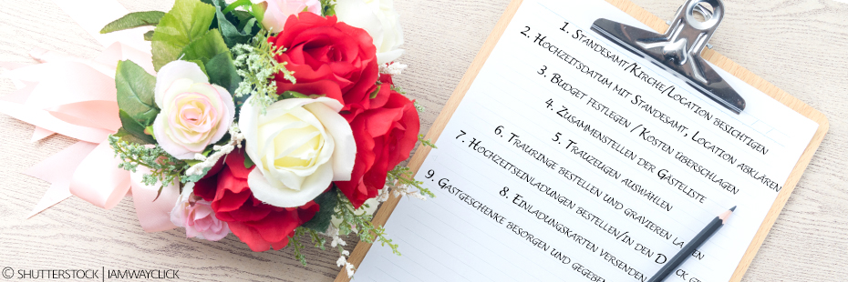 Die Wedding Checklist