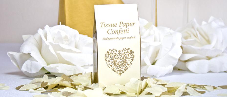 Konfetti für die Hochzeit